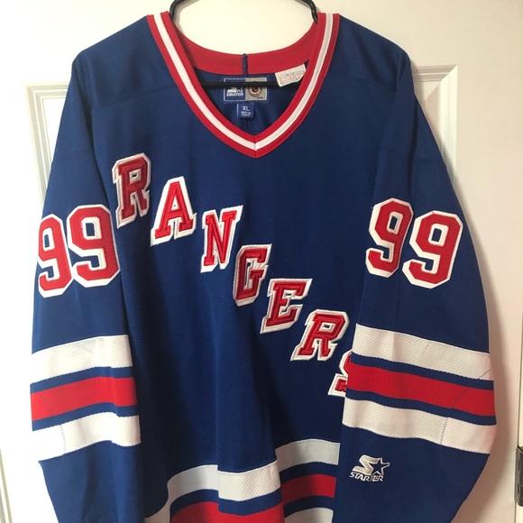 hot sale online 7e938 5533c Wayne Gretzky ny rangers starter jersey
